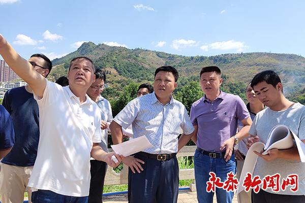 县委书记陈斌调研重点项目建设