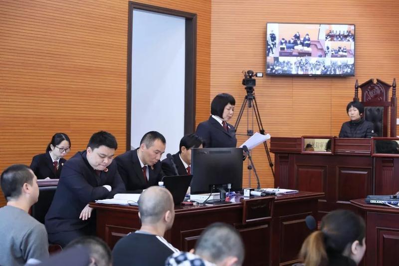涉案21人 下載app送18元彩金法院審理又一起重大涉黑案件