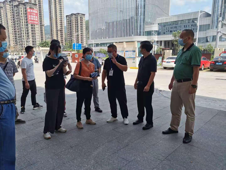 福州市新冠肺炎疫情常态化工作专班第五督导组来樟督导疫情防控工作